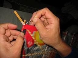 角凧製作工程16