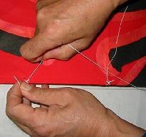 角凧製作工程19