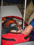 角凧製作工程21
