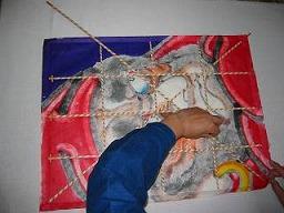 角凧製作工程6